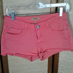 STS Blue coral pink denim cut off shorts 5